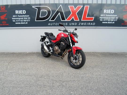 Honda CB 500 F ABS bei Daxl – Autohaus und Zweirad in Oberösterreich in Ihre Fahrzeugfamilie