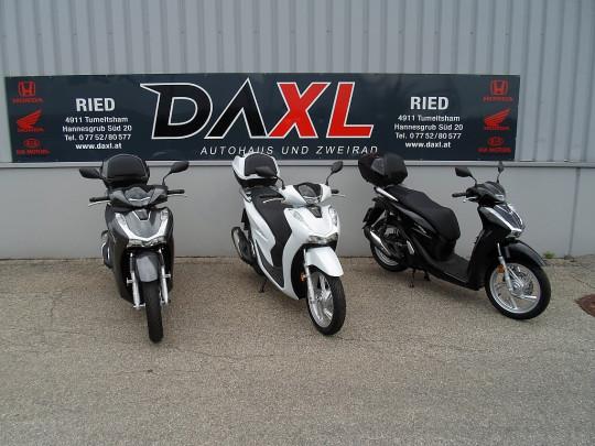 Honda SH125i mit SMART BOX € 52,87 monatlich bei BM || Daxl Bikes in