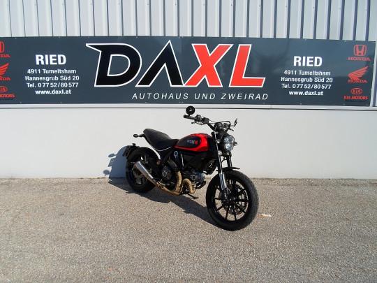 Ducati Scrambler Icon 800 € 89,96 monatlich – Top Zustand – Viel Zubehör bei BM || Daxl Bikes in